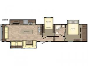 Volante 365MD Floorplan Image
