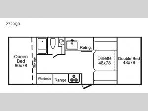 2720 Series 2720QB Floorplan Image