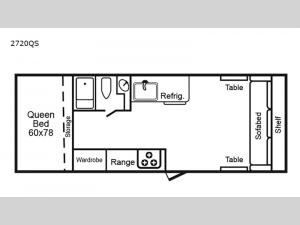 2720 Series 2720QS Floorplan Image