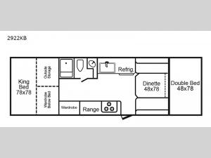 2922 Series 2922KB Floorplan Image