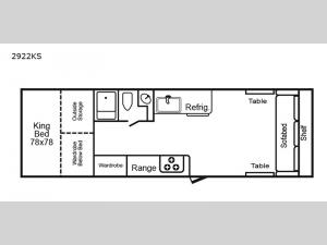 2922 Series 2922KS Floorplan Image