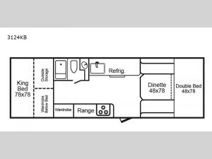 3124 Series 3124KB Floorplan Image