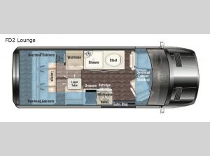 American Patriot FD2 Lounge Floorplan Image