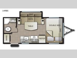 Pacifica XL 14RBS Floorplan Image