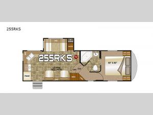 Fox Mountain 255RKS Floorplan Image