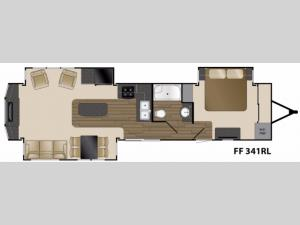 Fairfield 341RL Floorplan Image