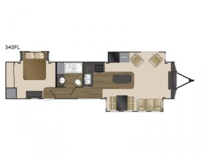 Fairfield 340FL Floorplan Image