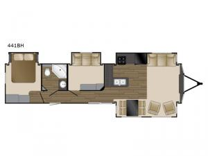 Fairfield 441BH Floorplan Image