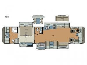 Berkshire XL 40D Floorplan Image