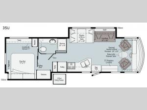 Sunstar 35U Floorplan Image