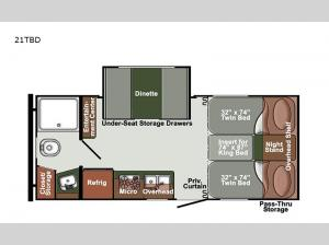 Gulf Breeze SVT 21TBD Floorplan Image