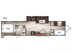 Patriot Edition 39RE Floorplan Image
