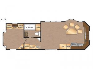 Island Series 4176 Floorplan Image