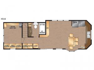 Island Series 4516 Floorplan Image