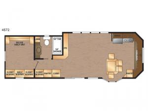 Island Series 4572 Floorplan Image
