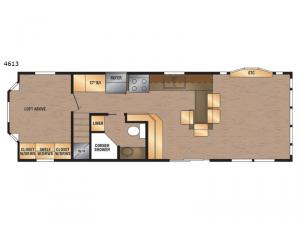 Island Series 4613 Floorplan Image