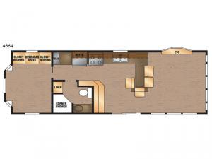 Island Series 4664 Floorplan Image
