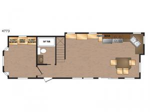 Island Series 4773 Floorplan Image