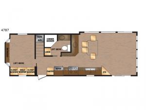 Island Series 4787 Floorplan Image