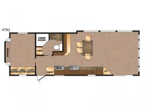 Island Series 4792 Floorplan Image