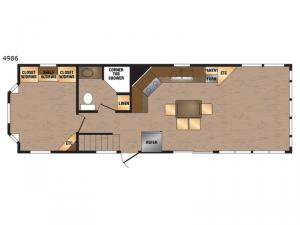 Island Series 4986 Floorplan Image