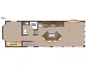 Island Series 5061 Floorplan Image
