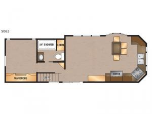 Island Series 5062 Floorplan Image