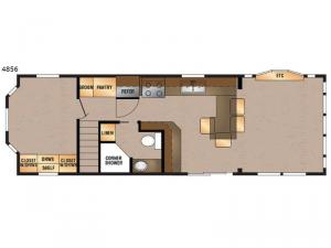 Island Series 4856 Floorplan Image