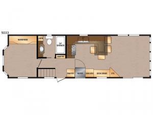 Island Series 5033 Floorplan Image