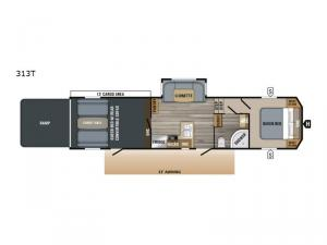 Talon 313T Floorplan Image