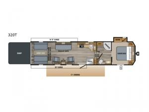 Talon 320T Floorplan Image