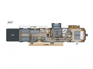 Talon 392T Floorplan Image