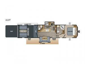 Talon 413T Floorplan Image