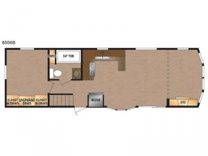 Lakeside Series 8006B Floorplan Image