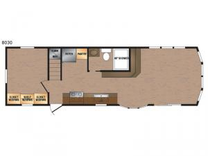 Lakeside Series 8030 Floorplan Image