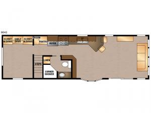 Lakeside Series 8042 Floorplan Image