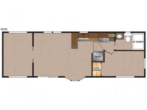 Lakeside Series 6038 Floorplan Image