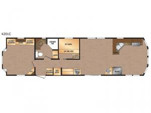 Canadian Series 4201C Floorplan Image