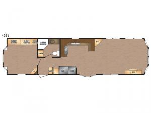 Canadian Series 4261 Floorplan Image