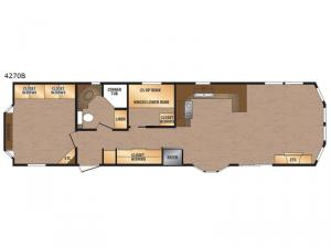 Canadian Series 4270B Floorplan Image