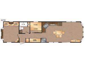 Canadian Series 4270I Floorplan Image