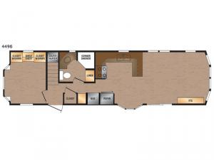 Canadian Series 4496 Floorplan Image