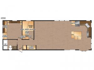 Canadian Series 4550 Floorplan Image