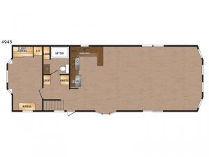 Canadian Series 4945 Floorplan Image