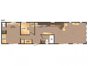 Canadian Series 4987 Floorplan Image