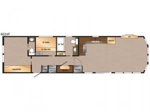 Canadian Series 6024F Floorplan Image