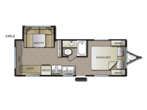 Surf Side 23RLS Floorplan Image