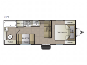 Surf Side 24FB Floorplan Image
