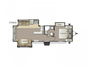 Surf Side 27RESS Floorplan Image