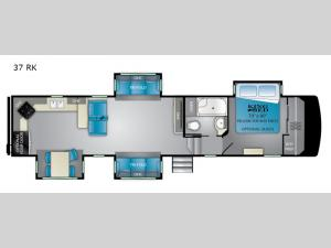 ElkRidge 37RK Floorplan Image